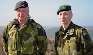 Öv  Peter Adolfsson och Genmj Bengt Andersson