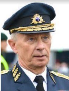 Förre ÖB general Sverker Göransson